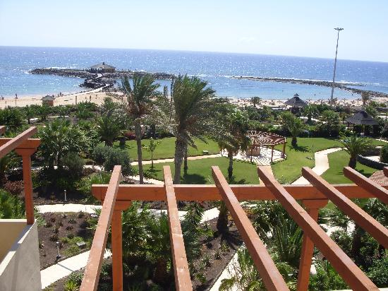 Elba Carlota Beach & Convention Resort: View from the top of the hotel