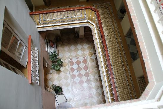 Hotel Argantonio: The lovely hotel stairwell