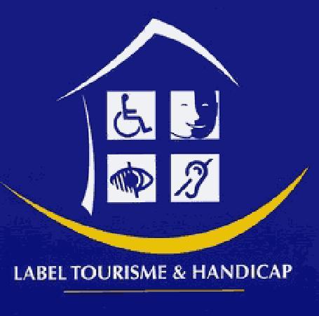 Hotel Jean Moet: Label tourisme et handicap