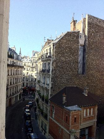 Hotel Arvor Saint Georges: lookout from our room