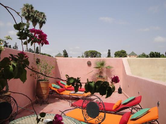 Riad Princesse du Desert: Terrasse