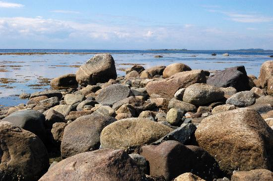 Solovetsky Islands, รัสเซีย: old granite dating back to Ice Age