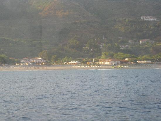 Riviera Calabra: il villaggio dal mare
