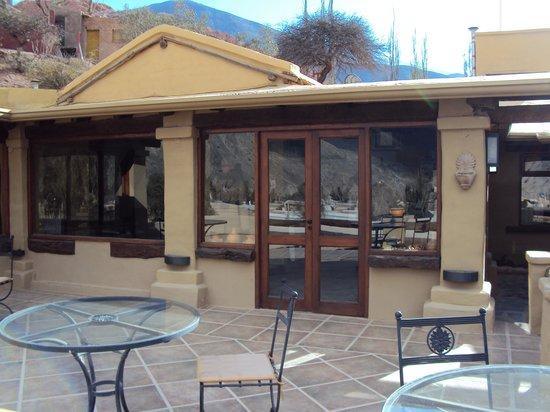 3.-Purmamarca: Terrazas de la Posta: para tomar un cafecito al aire libre