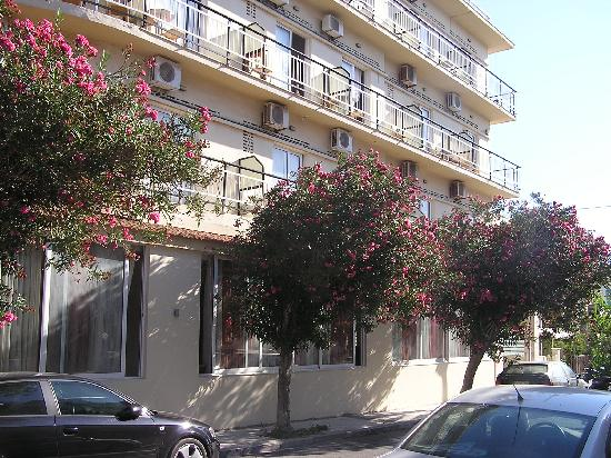 Sylvia Hotel: the hotel with sweet smelling flowering trees outside