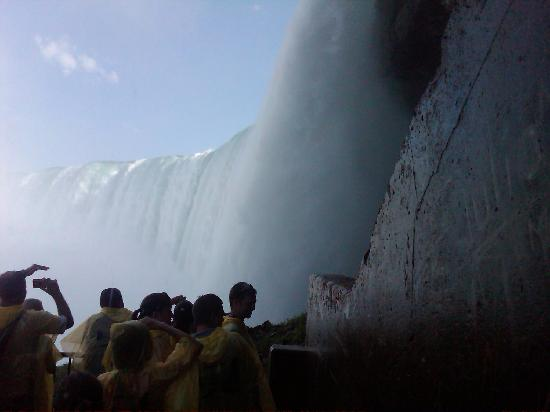 Journey Behind the Falls: Up close with the splendor of the Niagara Falls.