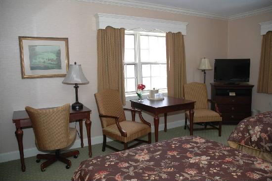 Saxon Inn: We've recently renovated one of our Deluxe rooms.