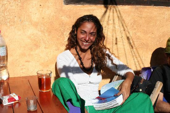 Posada del Abuelito: Romina from Argentina