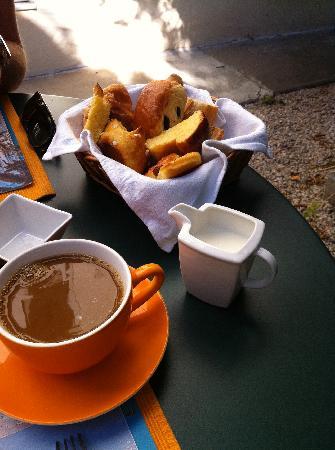 Hotel Villa Les Cygnes: Filterkaffee