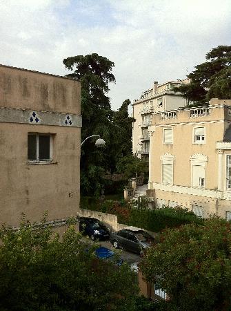 Hotel Villa Les Cygnes: Aussicht aus Zimmernummer 5