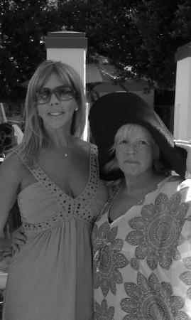 Riviera Palm Springs Resort: Met Vicki from RHOC