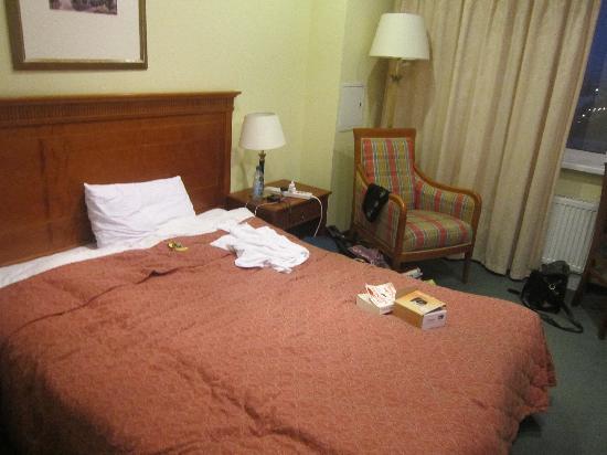 โรงแรมแคเทอรินาปาร์ค: The bed