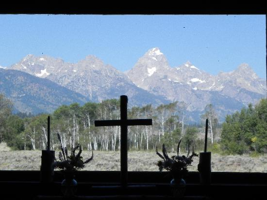 Chapel of the Transfiguration: View from altar window