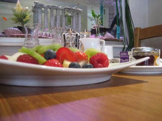 Bath House Hotel: Fruit plate - perfect