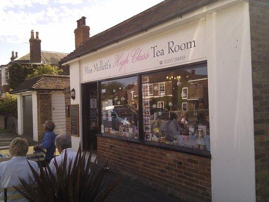 Miss Mollett's High Class Tea Room: Miss Mollett's tea room