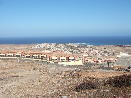 Barcelo Fuerteventura Thalasso Spa: View of Caleta from Chipmunk Mountian