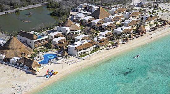Desire Riviera Maya Resort: Photo from the sky