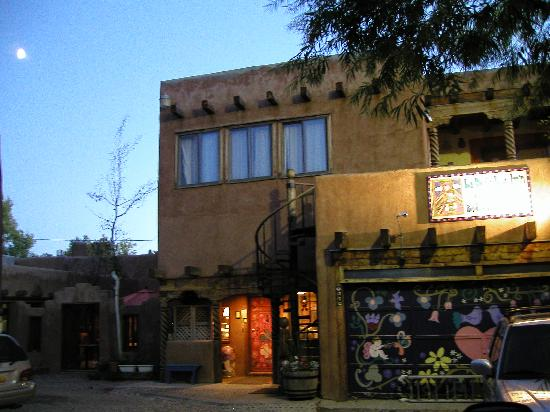 "La Dona Luz Inn, An Historic Bed & Breakfast: The ""back door'' entrance, from Kit Carson street"
