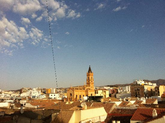 Salles Hotel Malaga Centro: View from our room