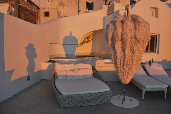 White Santorini Suites & SPA: EXTERIOR SUITE (SÓLO DE TU USO)