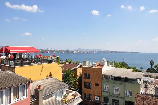 เบสท์เวสเทิร์นพรีเมียร์อะโครพอลสวีสแอ่นด์สปา: Executive Suite Room 505 Sea of Marmara View