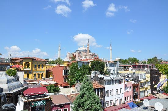 เบสท์เวสเทิร์นพรีเมียร์อะโครพอลสวีสแอ่นด์สปา: Executive Suite Room 505 Hagia Sophia View