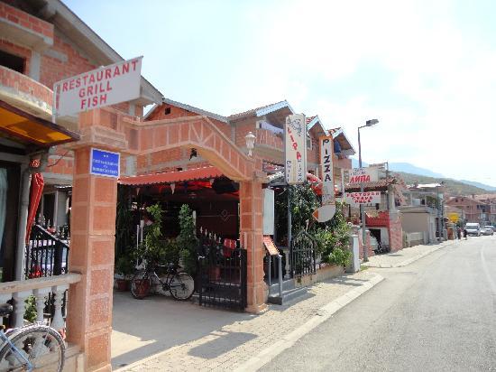 Ohrid, República de Macedonia: Restoran-LIPA Pestani