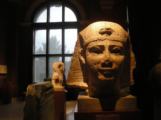พิพิธภัณฑ์ประวัติศาสตร์คุนสท์: Egyptian room