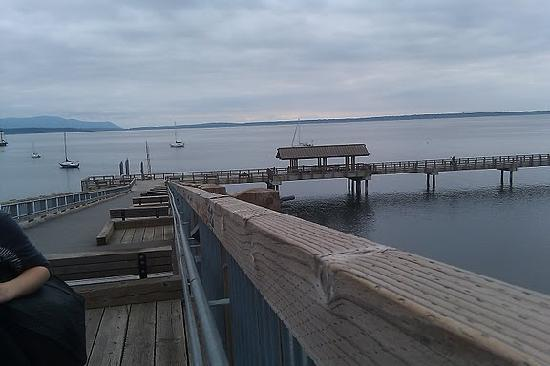South Bay Trail from top of pier