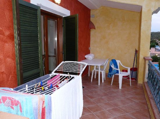 La Reggia di Nausicaa Club Resort: veranda