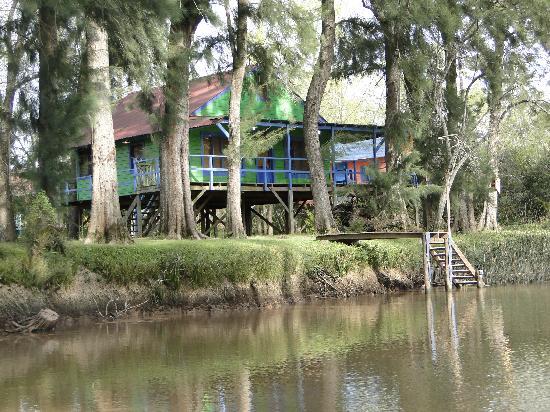 Safari Delta: Una de las casas