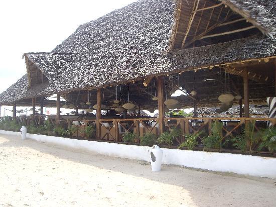 Eden Village Kendwa Beach Resort: IL RISTORANTE