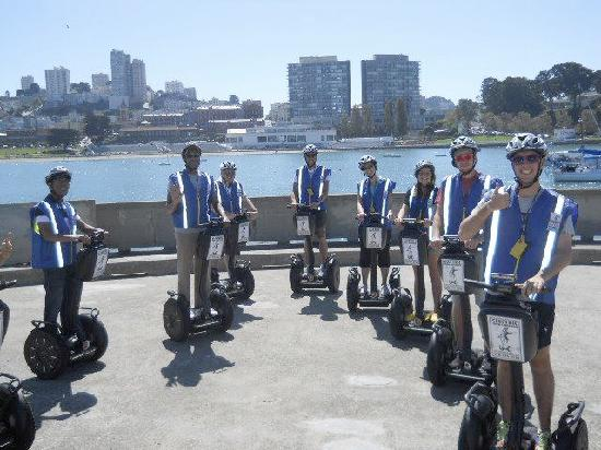 Electric Tour Company Segway Tours: group photo