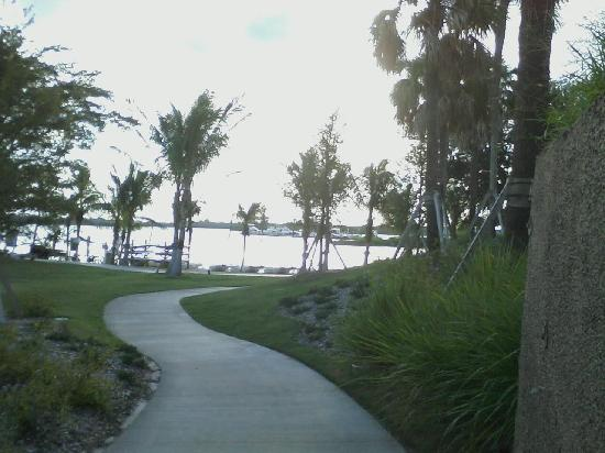 Club Med Sandpiper Bay: The Path to the river