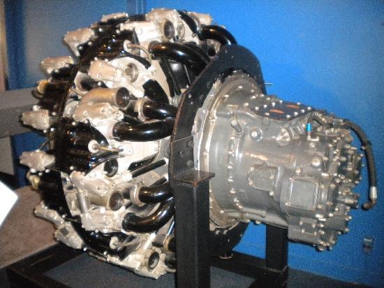 พิพิธภัณฑ์อากาศและอวกาศแห่งชาติ: Really big plane engine