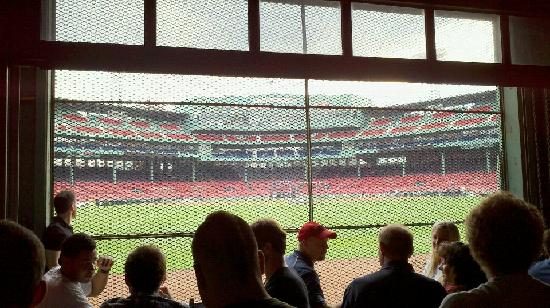 Fenway Park: Bleacher Bar right outside the stadium