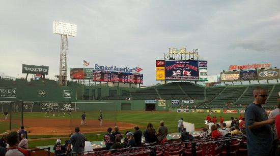 Fenway Park: Inside before the game
