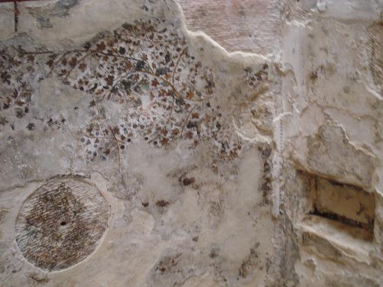 อัลเบดา ลิตเติลเปตรา: Ceiling painting at Little Petra