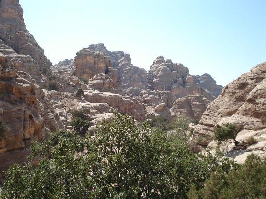 อัลเบดา ลิตเติลเปตรา: View at Little Petra