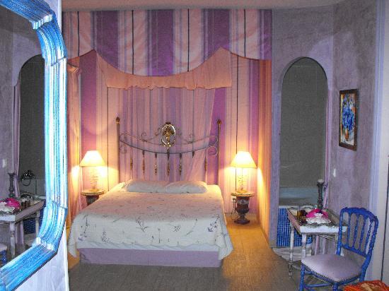 Villa Lantana: Lavendar room