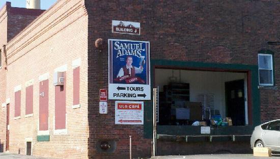 Samuel Adams Brewery: Entrance to Brewery