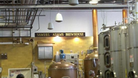 Samuel Adams Brewery: Brewhouse