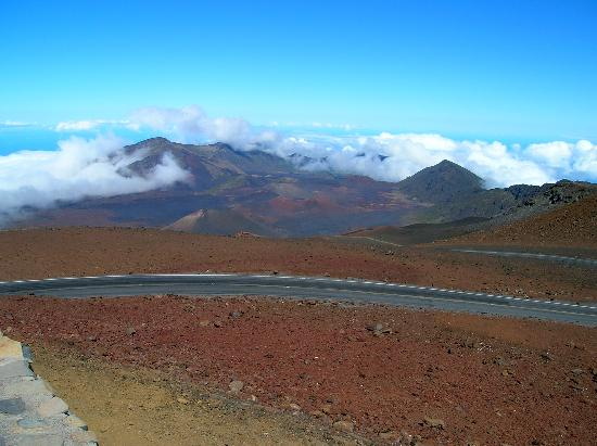Haleakala Crater: Crater view