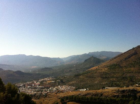 Parador de Jaen: A view from our balcony