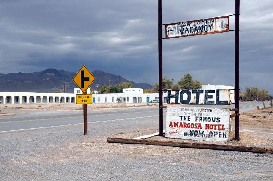 Amargosa Opera House and Hotel: view from across the street