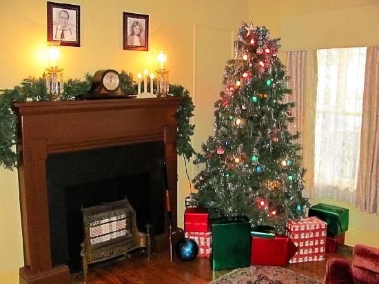 A Christmas Story House: Living Room