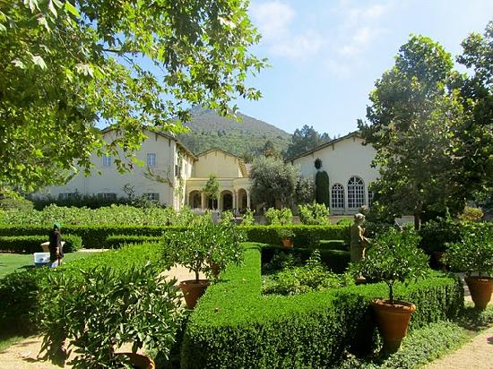 Intimate Wine Tours: Picturesque gardens at Chateau St. Jean in the Sonoma Valley.