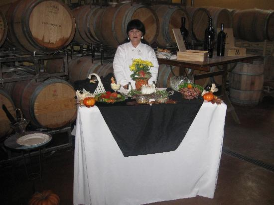 Intimate Wine Tours: Intimate Wine Tour's caterer and picnics in the wine country at V. Madrone Cellars in the Napa V