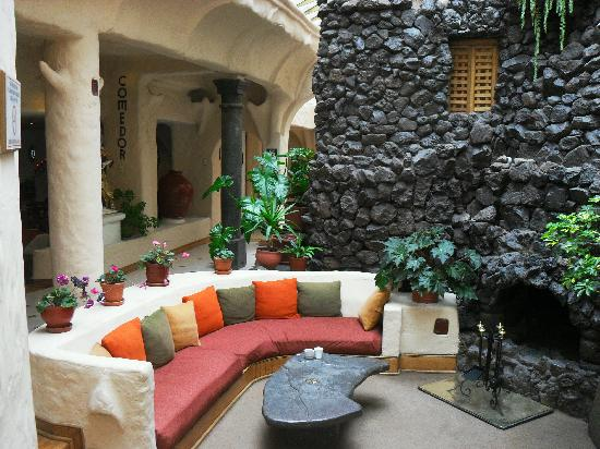 El Dorado San Agustin: patio interno