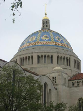 Basilica of the National Shrine of the Immaculate Conception: Dome